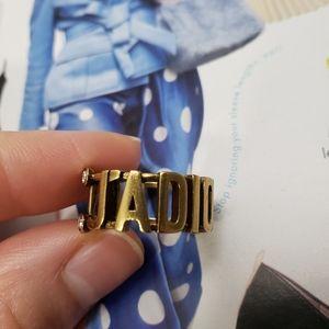 Dior ajustable ring